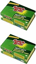 Scotch-Brite™ Heavy Duty Scourers With Nailsaver