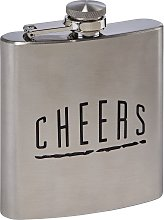 Scott & Lawson 6oz Stainless Steel Hip Flask