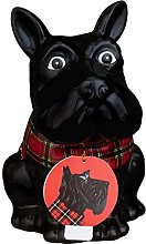 Scottie Dog Cookie Jar - Black