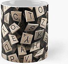 Scrabble Tile Madness Classic Mug Best Gift Funny
