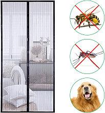 Screen Door 39.4 * 82.7 Inches Mesh Curtain