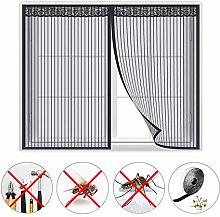 Screen mesh Curtain, Window Magnetic Fly Insect