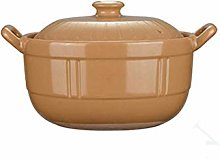SCRFF Household Kitchen Soup Pot, High Temperature