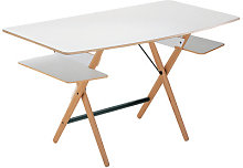 Scrittarello Desk by De Padova White