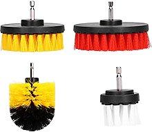 Scrub Brush, 4PCS Attachment Kit Power Scrubber