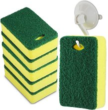 Scrub Cleaning Supplies - Kitchen Dish Sponge with