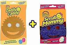 Scrub Daddy Sponge + Daddy Caddy Bundle (Mommy