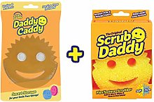 Scrub Daddy Sponge + Daddy Caddy Bundle (Original)