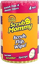 Scrub Mommy Cleaning Sponge Assorted 4 Pack
