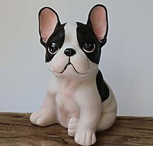 Sculpture Law Decoration Creative French Bulldog