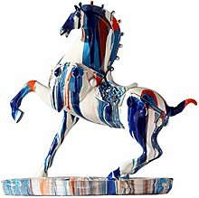 Sculpture Statue Collectible Figurines Resin Horse