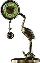Sculpture Statue,Creative Retro Pendulum Clock/16
