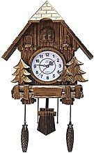 Sculpture Statue,Handcrafted Wood Cuckoo Clock