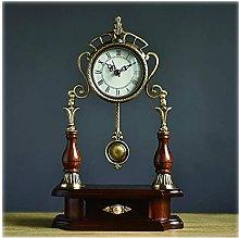 Sculpture Statue,Table Clock/Simple