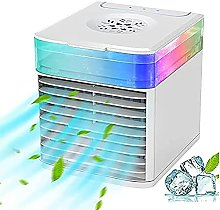 SCYMYBH Portable Air Cooler, Rechargeable