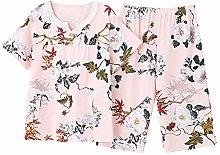SDCVRE Pajama Set Large Size M-4XL Women Pajamas