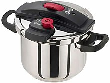 Sdesign 6L 304 Stainless Steel Pressure Cooker,