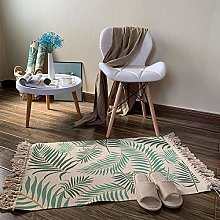 SDFS Nordic Braided Tassels Decorative Sofa Rugs