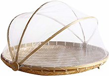 SDGDFXCHN Hand-Woven Food Serving Basket,Dome with