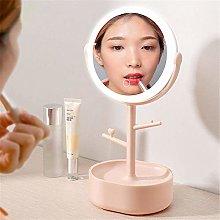 SDHN Vanity MirrorAdjustable Desk LED Makeup