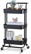 SDKFJ Storage Trolleys Storage Trolley Shelves 3