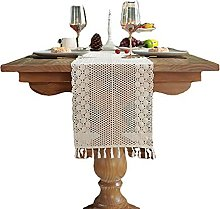 SDKFJ Table Runners Cotton Linen Table Bedding Mat