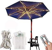 SDKFJ Umbrella Lights Garden Parasol Light Parasol