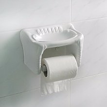 SDKKY Ceramic toilet paper box, paper towel