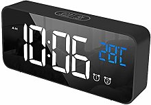 Sdkmah9 Digital Alarm Clock Desk Clock with Month,