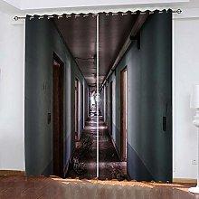 SDSONIU Blackout Curtains 56 X 40 Inch Creative
