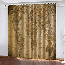 SDSONIU Blackout Curtains For Bedroom 79 X 63 Inch