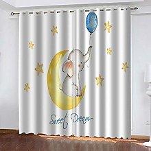 SDSONIU Blackout Curtains Super Soft Eyelet