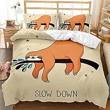 SDSONIU boys single Quilt Cover Sets Cartoon