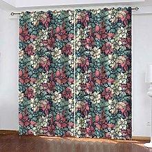 SDSONIU Curtain 118 X 106 Inch Vintage Painted