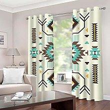 SDSONIU Curtain 79 X 63 Inch Creative Art Pattern