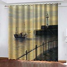 SDSONIU Decoration Curtains 79 X 63 Inch