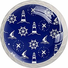 Sea and Nautical Lighthouse Drawer Knobs Pulls