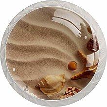 Sea Shells Beach   Modern Minimalist Printing