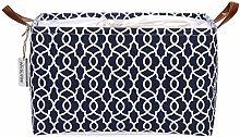 Sea Team Geometry Pattern Canvas Fabric Storage
