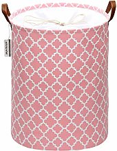Sea Team Moroccan Lattice Pattern Laundry Hamper