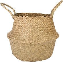 Seagrass belly storage basket Pot Nursery Bag