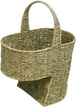 Seagrass Stair Basket/Step Storage Basket with