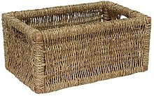Seagrass Storage Wicker Basket Brambly Cottage