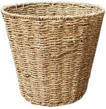 Seagrass Woven Waste Bin Bay Isle Home