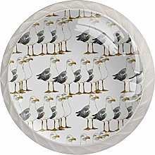 Seagull Pattern Drawer Knobs Pulls Cabinet Handle