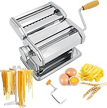 Seahelms Pasta Maker Machine with Noodle Rack,