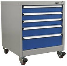 Sealey API5657B 5 Drawer Mobile Industrial Cabinet