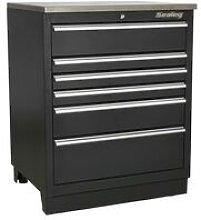 Sealey APMS03 Modular Floor Cabinet 6 Drawer 775mm