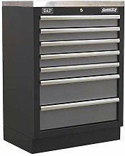Sealey APMS62 Modular Floor Cabinet 7 Drawer, 680