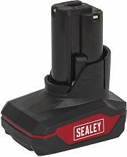Sealey CP1200BP3 Power Tool Battery 12V 3Ah Li-ion